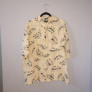 Men's silk shirt size XXL